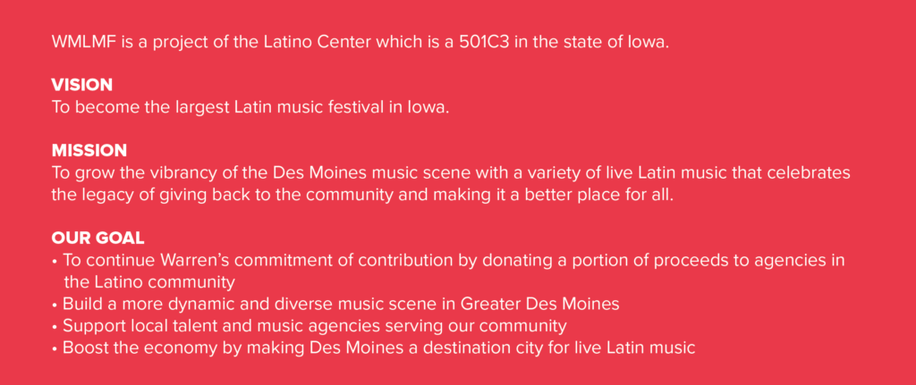 what is warren morrow latin music festival