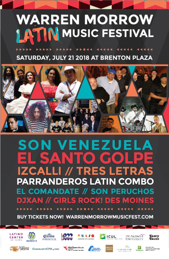 warren morrow latin music festival 2018